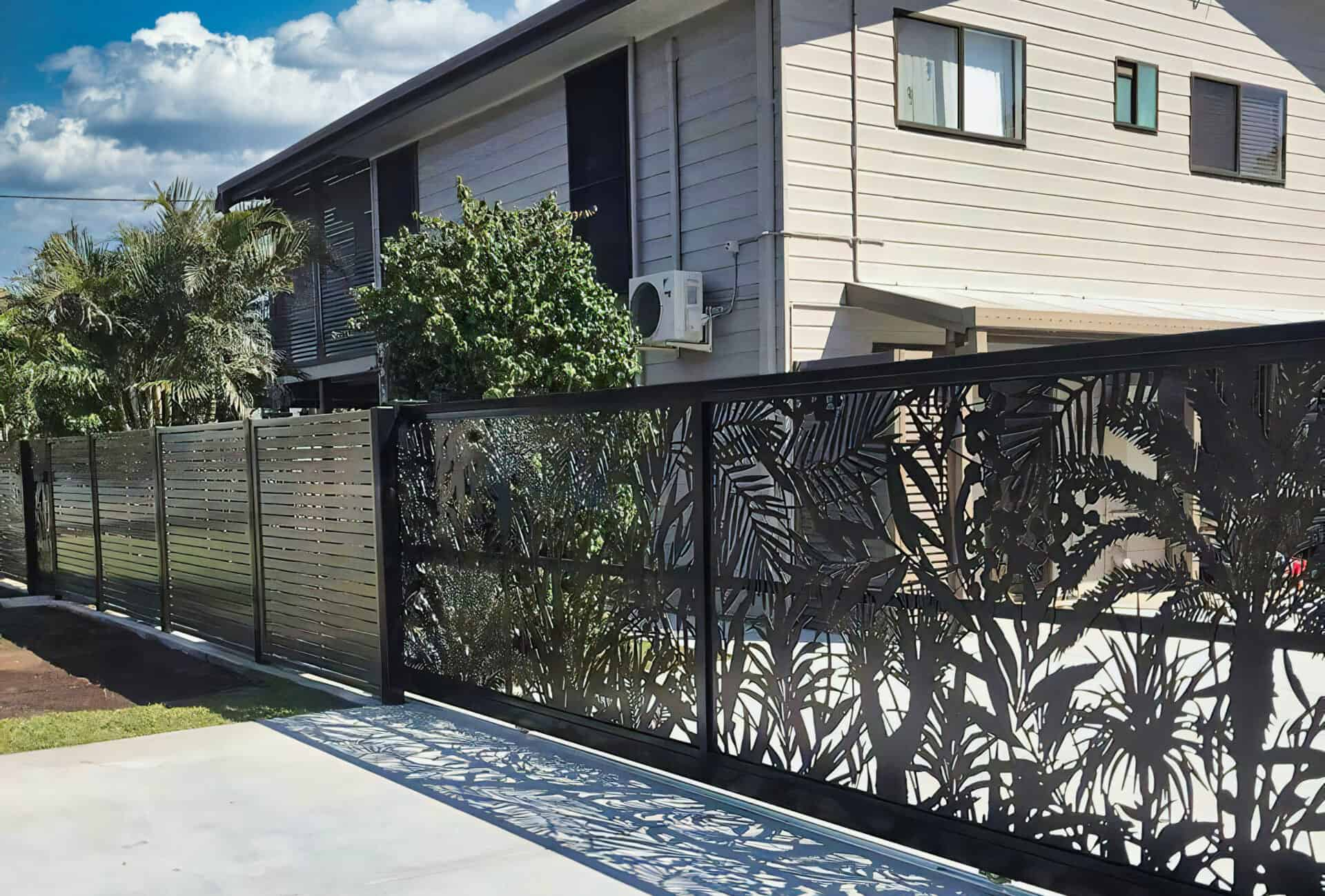 sunshine coast aluminium fencing